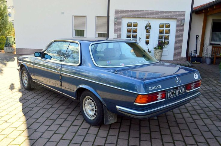Sehr schönes Mercedes 230 CE Coupe W 123,nur 104TKM!!!, 5 Gang