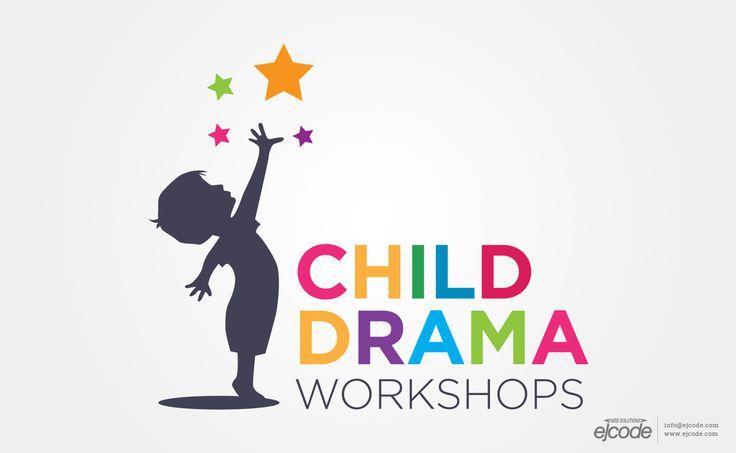 Child Drama Workshops - Vector Logo More