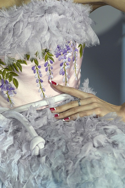 Embroidery & Feather/Fur...Details
