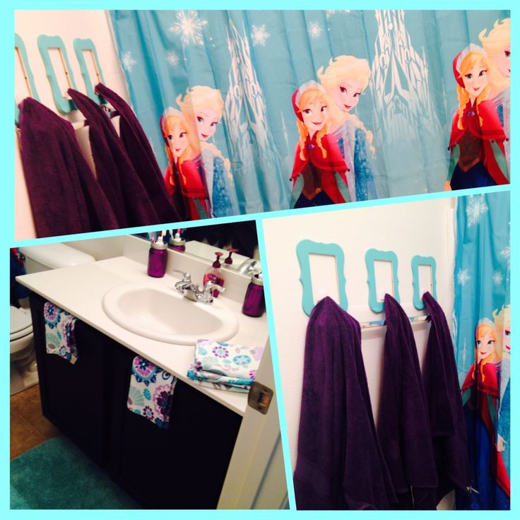 17 best images about frozen bathroom on pinterest Disney bathroom ideas
