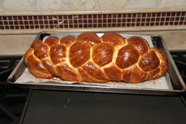 Fonnot Kalács (Hungarian Braided Sweet Bread)