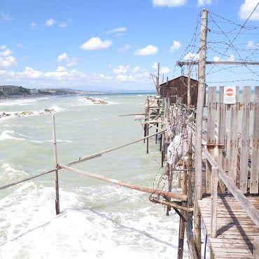 Trabucco, una costruzione utilizzata anticamente per la pesca #italy #termoli #molise
