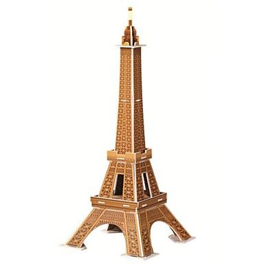 DIY 3D Puzzle - Eiffel Tower - Adults And Children. Only at www.pandadeals.co.uk
