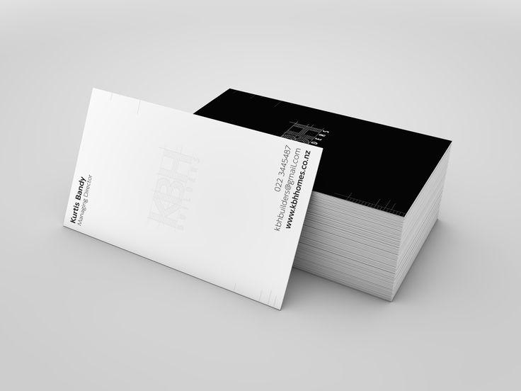 KBH Builders Business Cards   Silverline Creative