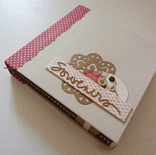 Album Souvenirs (kit Fée du Scrap - mars) - Blog's Anne