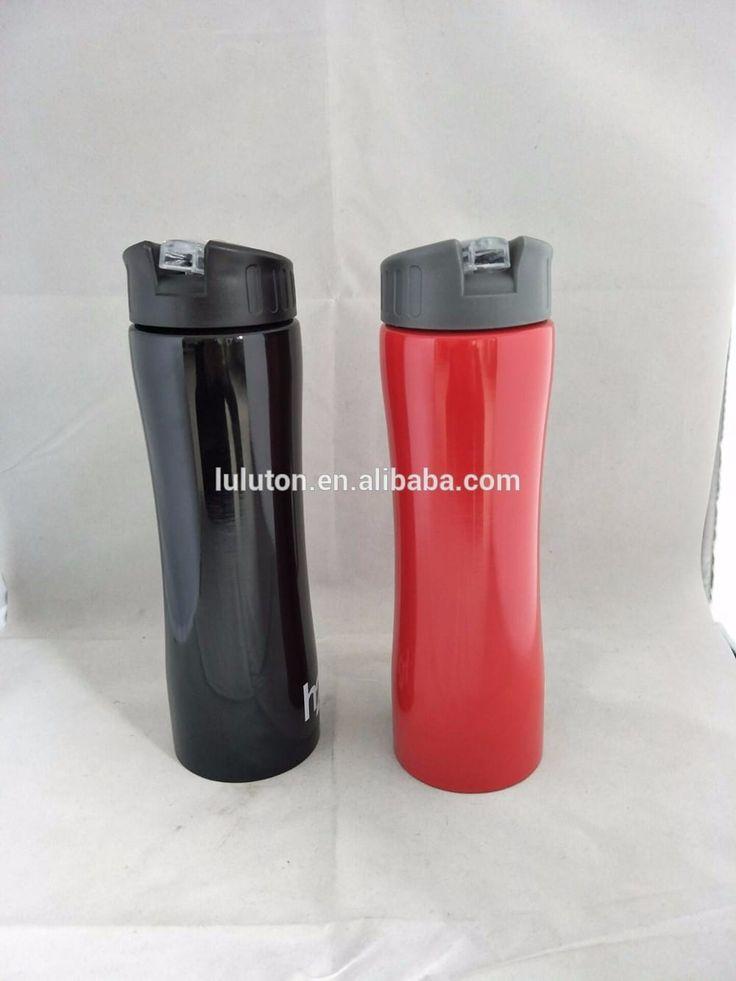 www.lltbottles.com 600ml water flask straw eco-friendly 600ml straw stainless steel water bottle sport travel bottle cool design drinking bottle with string