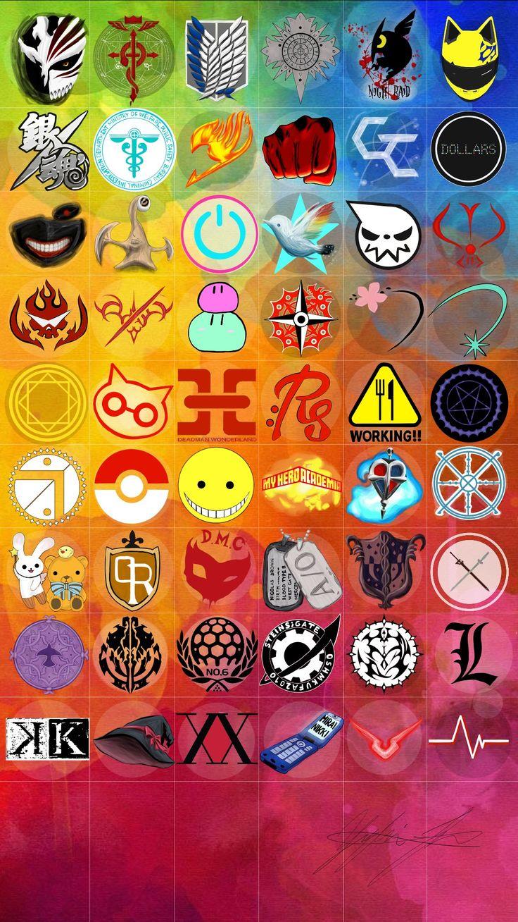I know bleach, fma, aot/snk, akame ga kill!, drrr!, fairy tail, one punch man, guilty crown, drrr! (again), tokyo ghoul, parasite, soul eater, charlotte, magi, deadman wonderland, black butler, pokémon, assassination classroom, hero academia, gangsta., sword art online, arslan senki, NO.6, Steins gate, Pandora Hearts, Death Note, K-Projekt, Mirai Nikki and Code Geass.