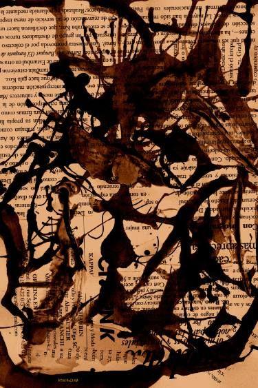 "Saatchi Art Artist ACQUA LUNA; Painting, ""34-Arte ABSTRACTO."" #art"