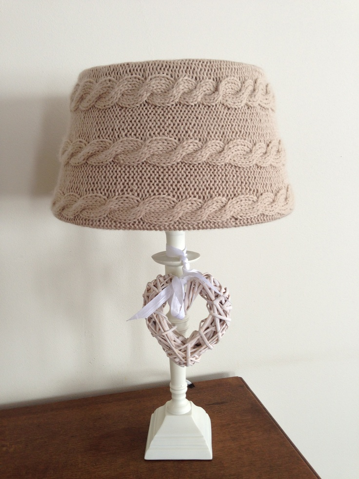 114 best crochet lampshade images on pinterest lampshades lampenkap bekleed greentooth Images