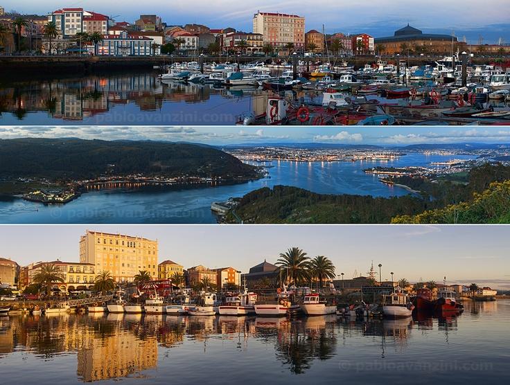 Panorámica de la Ría de Ferrol: A la Venta en Galería ARTIDEA. Sol, 122 Ferrol, La Coruña