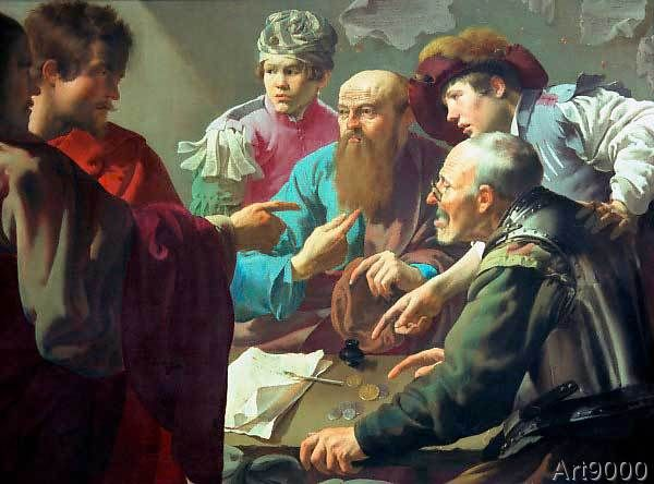 Hendrik Terbrugghen - The Appointment of the Apostle Matthew