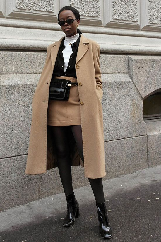 d87a96db3fcc Sleek Ways To Style The Modern Fanny Pack: Fashion blogger 'Sylvie Mus'  wearing