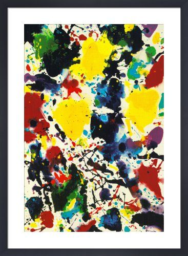 Untitled, 1980 by Sam Francis from King & McGaw