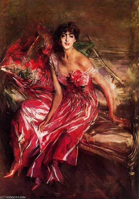 untitled (6705) by Giovanni Boldini (1842-1931, Italy)