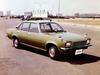Saehan Rekord--A German Opel assembled in Korea from 1972 to 1978