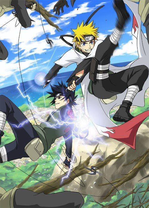 Anime/manga Naruto (Shippuden) Characters Sasuke and