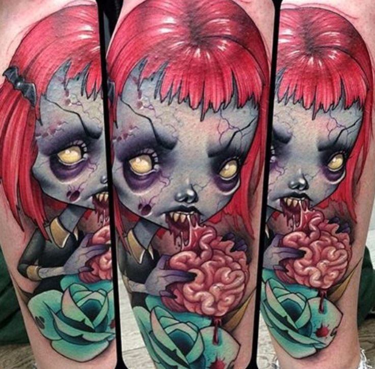 91 Best Zombies And Monsters Tattoos Ideas Images On