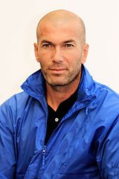(Real Madrid C.F.) Former player Zinedine Zidane is the current manager of the club.