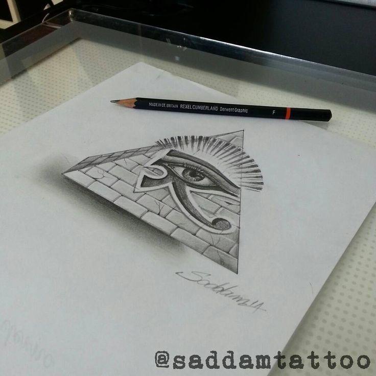 O olho que tudo vê. #iluminati  #desenho #arte #art #lapis  #saddamtattoo #saddamtattoostudio  #everlast #electricink (em Saddam Tattoo Studio)