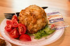 Faidley's in Baltimore Maryland's famous Lexington Market, perhaps makes the most famous Chesapeake bay style crab cake. It is made completely with Maryland Jumbo lump crab meat. Pick through the crab meat and remove any cartilage, being careful not to break up any of the lumps. Add the crab meat to a large bowl along […]