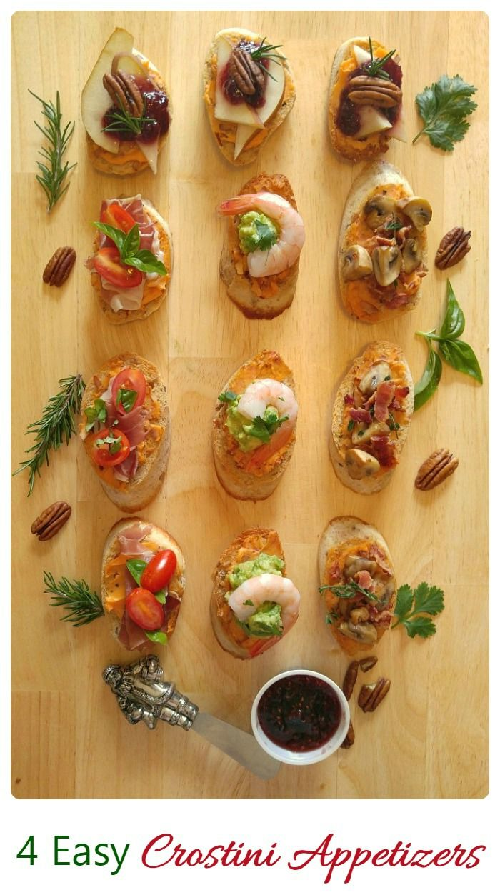 Easy Crostini Party Appetizer Recipes Recipe Gardening Recipes