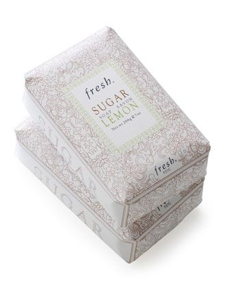 Lemon Sugar Soap by Fresh at Neiman Marcus.