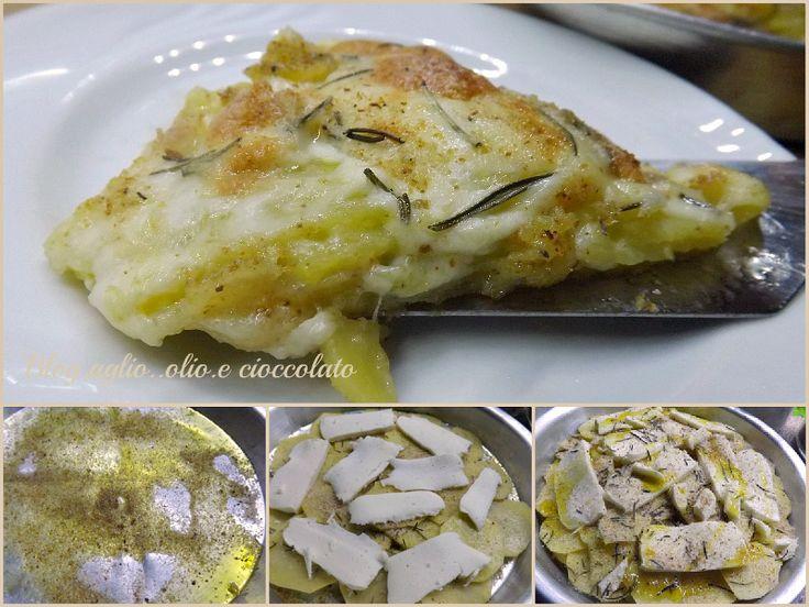 Il Tortino di patate e Scamorza è un piatto semplicissimo e gustosissimo e grazie alla scamorza,rimane molto filante!!E' un piatto molto apprezzato da tutti