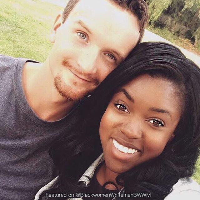 @storybookstevie ❤️ #Bwwm #love #interracial #mixed #mixedcouple #mixedlove  #interraciallove #interracialcouple #America #blackgirl #whiteboy #followme #selfie #relationshipgoals #blackgirlmagic #melanin #beautiful #swirl #hot #photooftheday #smile #makeup #mac #london #style #darkskin #winter #trump