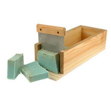 Cortador de jabón en madera