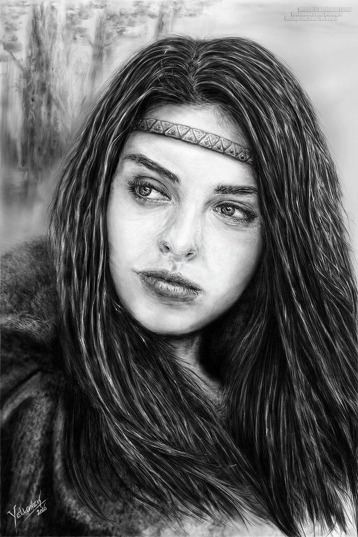 Fantasy-Girl by Willhorn.deviantart.com on @DeviantArt
