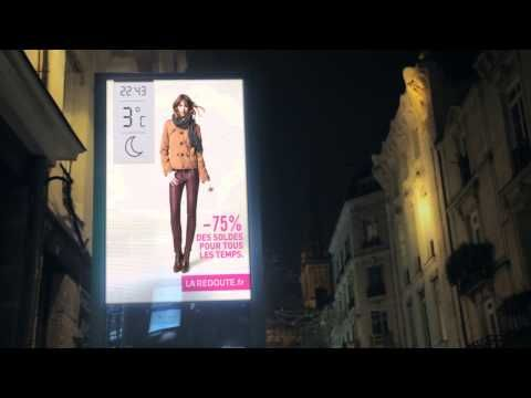 JCDecaux France : Innovate for La Redoute