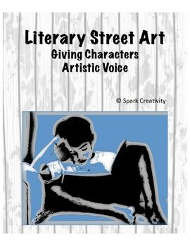 With this unusual project from Spark Creativity, English teachers introduce students to the world of street art and designers like Banksy and Shepard Fairey, then invite students to create their own street art from the perspective of a character in their current text.