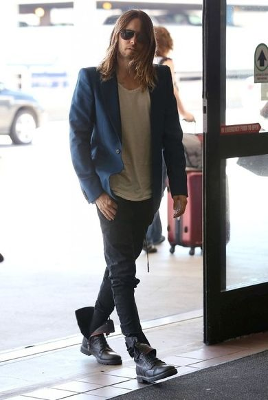 Jared Leto Departing On A Flight At LAX / 3