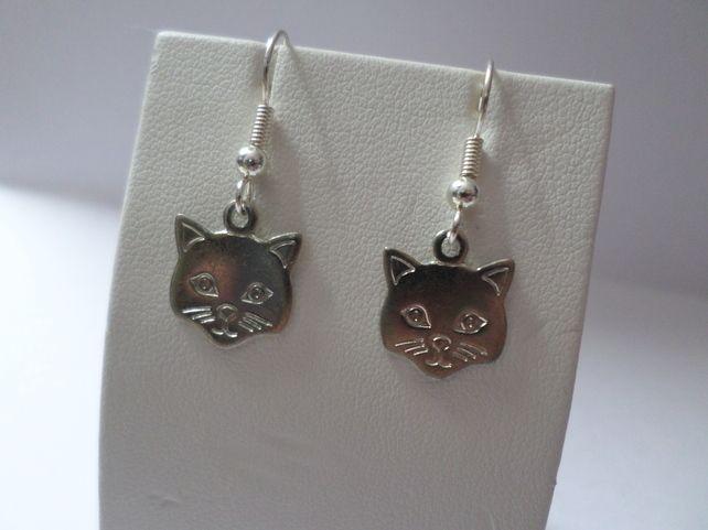 Handmade Cool Cats Earrings £2.00 #folksyfriday