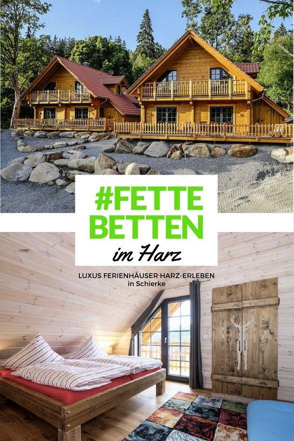 """Die Luxusferienhäuser """"Harz erleben"""" in Schierke verbinden Wellness und Natur perfekt"""
