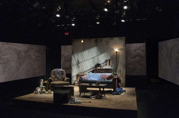 United Front.   The Flea Theater Scenic Design Joey Mendoza.