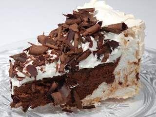 Reteta romantica de Ziua indragostitilor - Prajitura cu bezea si ciocolata