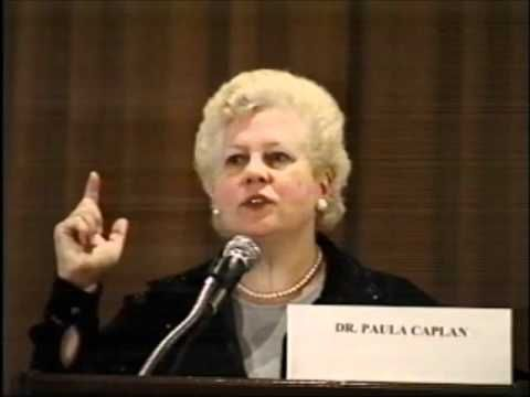Paula Caplan, Ph.D. - What is Wrong with Psychiatric Diagnosis (2000 ) - YouTube
