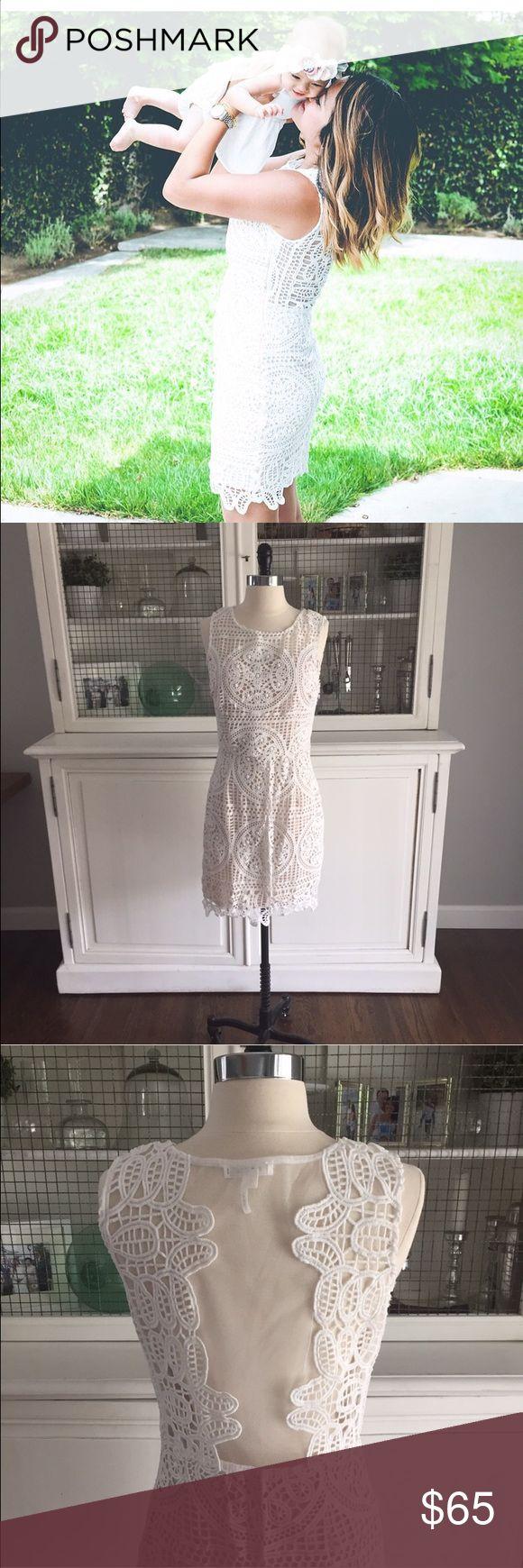 Soieblu lace ivory dress Lace with fine detail dress soieblu Dresses Mini