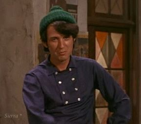 Mike Nesmith! My favorite Monkee as a kid! Funny, tall, handsome & Texan, the Cowboy of the Monkees. What's not to love???