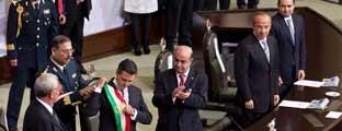 Felipe Calderón pone sello a su retiro como mandatario. Excélsior