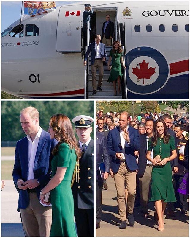 William and Kate have flown to Kelowna today, a city in Okanagan Valley surrounded by pine forest, vineyards, orchards and mountains.  Their first stop is to the Okanagan campus of the University of British Columbia. The Duke and Duchess are currently sitting through a ceremony celebrating the University's centennial and the tenth anniversary of the Okanagan campus. They will meet with some of its students and the wider community and watch an inter-squad game with the UBC Okanagan Heat…