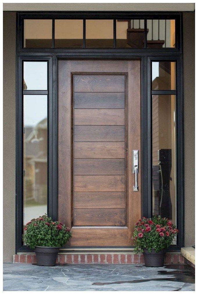 56 Beautiful Farmhouse Front Door Design Ideas And Decor