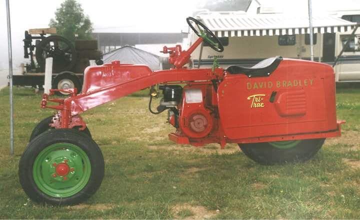 David Bradley Tri Trac Garden Tractor Tractors Pinterest Gardens Posts And Tractors
