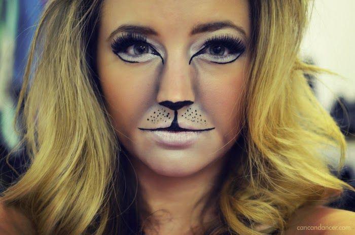 Lion Halloween Makeup, would be fun for teachers.