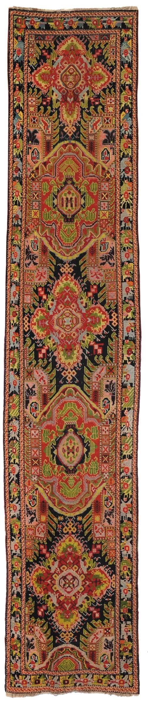 Tappeto passatoia caucasica Karadagh, inizio XX secolo  from Cambi Casa d'Este
