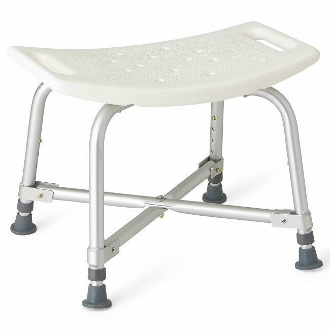 Shower Bench For Women Men Bariatric Folding Shower Chair Medical Transfer Bench #Medline