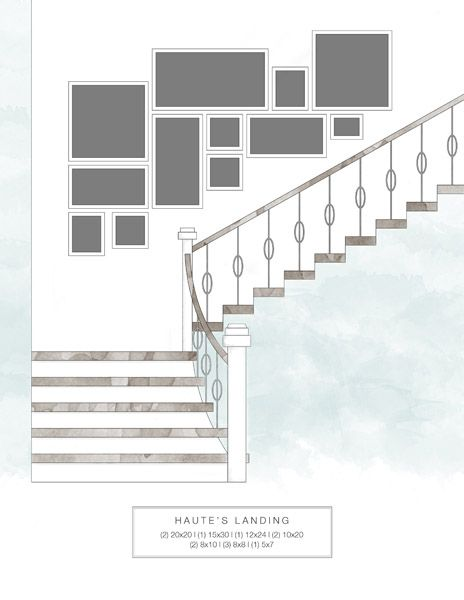 25 best ideas about gallery wall staircase on pinterest - Stairway photo gallery ideas ...
