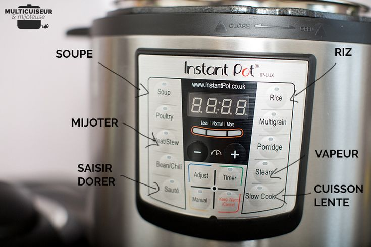 Test du multicuiseur Instant Pot IP-LUX60