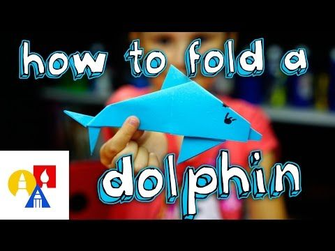 How To Fold An Origami Dolphin - Art for Kids Hub